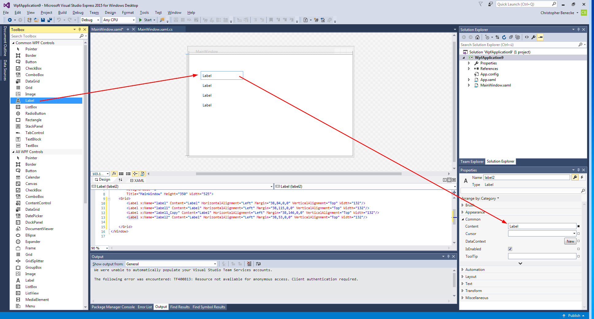 PowerShell – How to build a GUI with Visual Studio – benecke cloud