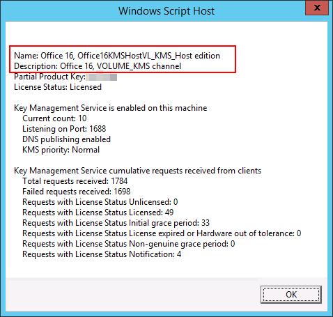 Windows 10 / Office 2016 – KMS Activation – benecke cloud